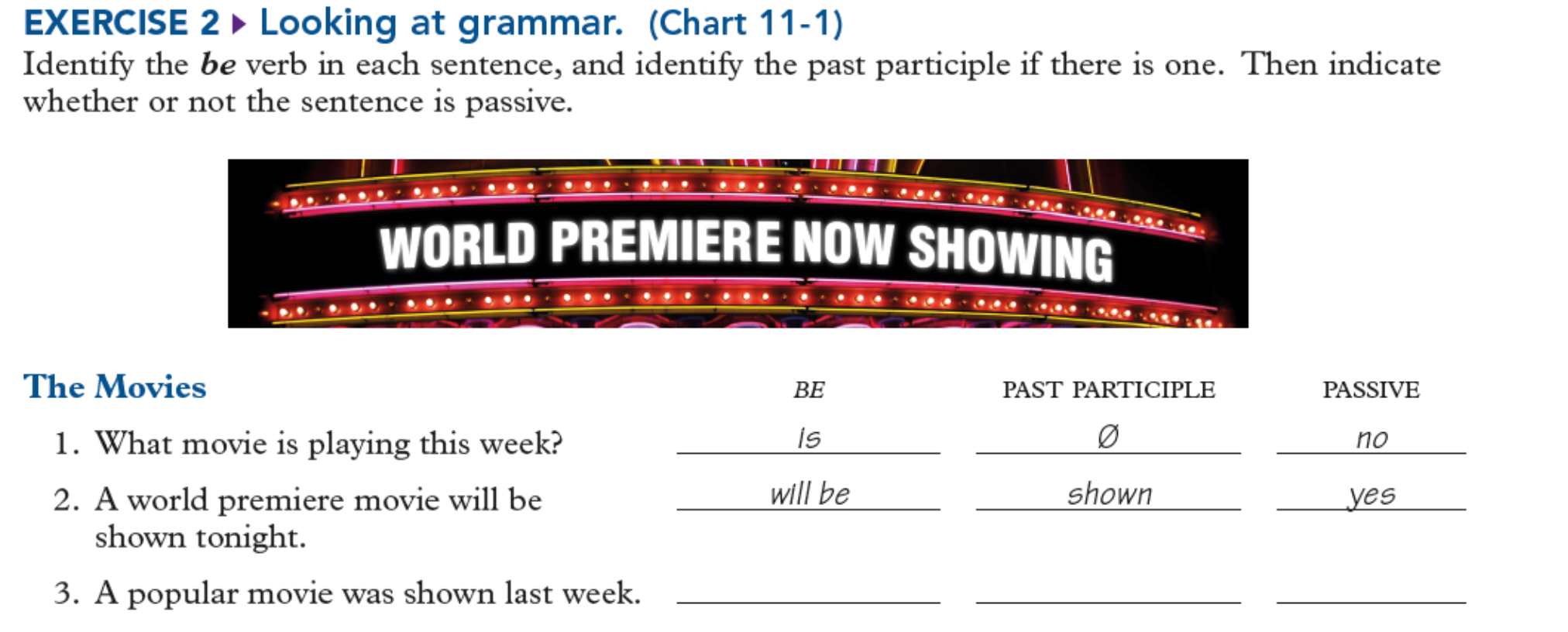 will be past participle grammar