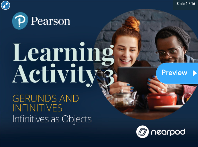 Pearson Modular Grammar Course Powered by Nearpod