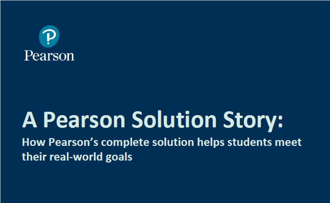 A Pearson solution story: Harvest Institute