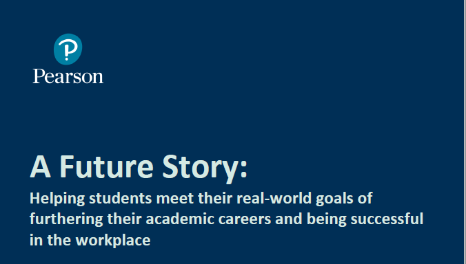 A Future story: Helping students meet real-world goals