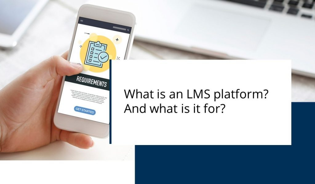 Banner: What is an LMS platform? And what is it for?